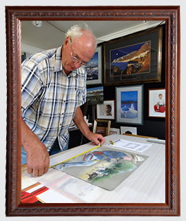 Picture Frames| Mirrors | Custom Frames | Brisbane | Precision Picture Framing | Gallery Image 8